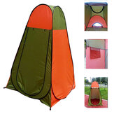 47.24x47.24x74.8inch Privacy Shower Tent Changing Room Outdoor Camping Tent UV-proof Sunshade Canopy