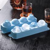 Stampo vassoio ghiaccio rotondo Stampo bevanda ghiaccio Cube