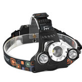 XANES 749 1200 Lumens T6 + 2 XPE Led à bicyclette avant Zoom infini Outdoor Sports HeadLamp 4 Modes