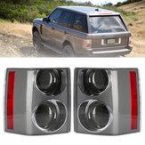 Auto Achterlicht Montage Achter Remlicht Zwart + Zwart Links / Rechts voor Range Rover Vogue L322 2002-2009