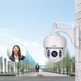 Sricam SH028 HD 2.0MP 1080P 5X Zoom Dome Caméra IP P2P Caméra de surveillance sans fil CCTV 360 degrés Wifi PTZ extérieur étanche