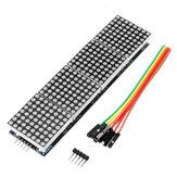 5 pezzi Geekcreit MAX7219 Dot Matrix LED Display Modulo 4 in 1 Display Geekcreit per Arduino - prodotti che funzionano con schede Arduino ufficiali