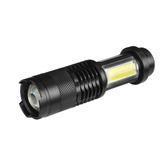Latarka LED XANES SK68-COB XPE + COB 1000 Lumenów Zoomable Tactical LED