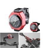 22-28mm Zegar motocyklowy + termometr Luboższy Wodoodporny uchwyt na kierownicę