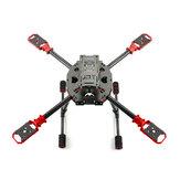 Feichao J630 630mm empattement 10-15 pouces Kit de cadre pliable en fibre de carbone pour drone RC