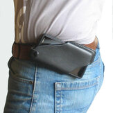 Men Genuine Leather 4.7inch~5.8 inch Phone Bag Waist Bag Easy Carry EDC Bag For Outdoor