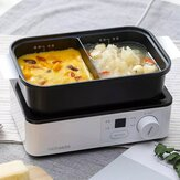 Mini Multi-function Electric Baking Pot Skillet From Portable Lunch Machine Non-Stick Coating Toaster.