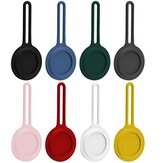 Bakeey Portable Pure Silicone Protective Cover Sleeve for Apple Airtags bluetooth Tracker