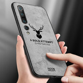 Bakeey Deer Classic Breathable Canvas Cloth Shockproof Protective Case for Xiaomi Mi10 Mi 10