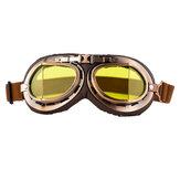Weinlese-Motorrad-Sturzhelm Eyewear-Schutzbrillen, die Gläser ATV-Schmutz-Fahrrad reiten