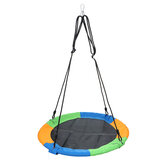 39inch Round Swing Kid Hanging Saucer Hammock Chair Max Load 500lbs Camping Travel Garden