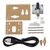 Beyboard de una cabeza Mecánico Clicker DIY Conjunto Tecnología electrónica DIY Kit