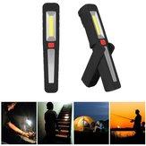 Draagbare COB LED USB Oplaadbare Magnetische Werklamp Haak Tent Camping Zaklamp Zaklamp