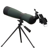 Zoom 25-75x70 Jednooczny HD Optic Bird Spotting Telescope ze statywem Uchwyt na telefon Outdoor Camping