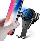 Bakeey 5W 10W Qi iPhone X XR9389824最大Mi8Mi9 HUAWEIP20用自動急速充電ワイヤレスカーチャージャーホルダー
