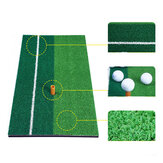 60x30cm Golf Mat Golf Eğitim Yardımları Outdoor Kapalı Vurma Pedi Uygulama Çim Mat Oyunu Golf Eğitim Matı Grassroots