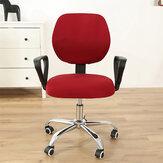 2 Adet / takım Ofis Koltuğu Kapağı Elastik Bilgisayar Döner Sandalye Koruyucu Streç Kol Sandalye Koltuk Slipcover