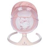 SOKANO Sedia a dondolo elettrica per neonati pieghevole cesto per dormire intelligente con musica per neonati
