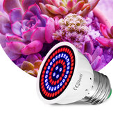 E27 LED Plant Growth Light 48/60/80 LED Indoor Hydroponic Flowers Seedlings Grow Light Lamp Bulb For Veg Bloom Indoor Plant