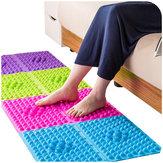 Tapis de massage des pieds de tapis de thérapie de masseur de pied coloré d'acupuncture moxibustion