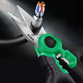 LAOA Electrician Scissors 6inch Wire Cutter Crimpper Stainless Wire stripper Cable Cutting Crimping Tool