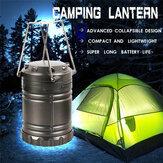 電池式LEDキャンプライトポータブル吊りランタン屋外ハイキングランプ