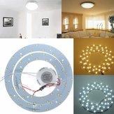 27w 5730 smd LED cercles double panneau lampe luminaires panneau de plafond annulaire