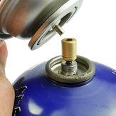 PoêleextérieurenlaitonIPRee®Convertisseur BBQ Cylindre à gaz Brûleur Réservoir Régulateur de remplissage Adaptateur de camping Picnic