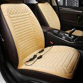 1PC12Vユニバーサルカーヒーター付きシートクッションヒーティングシートカバーウィンターウォーマーパッドマット