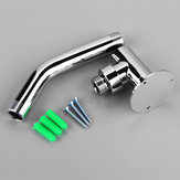 13.2cm Wall Mounted Shower Extension Arm Pipe Bottom Entry for Rain Shower Head