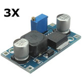 3Pcs Adjustable XL6009 Step Up Boost Voltage Power Supply Module Converter Regulator