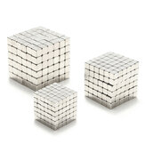 3/4 / 5mm 216 pcs Mainan Magnet Cube Magnet Balls Magic Persegi 3D Puzzle Bola Sphere Hadiah Decor Dengan Kotak