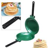 7.5Zoll-Schlag-doppelteSeiten-keramischeBratpfanne-nichtStock-rundeKuchen-Pfannkuchen-Toast Ei