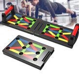 17 Em 1 Placa Push Up Rack Aptidão Pushup Stands Braço Treinamento Muscular Abdominal Academia Ferramentas de Exercício