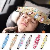 Carrinho de apoio de cabeça de bebê Cochilo Sono Ajuda Cinta de segurança Assento de carro Cinto