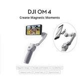 DJI OM 4 OSMO 4 3 Eksenli Fırçasız Sabitleyici Katlanabilir El Tipi Gimbal Manyetik Tasarım Hareket Kontrolü ActiveTrack 3.0 Cep Telefonları Akıllı Telefon için Tiktok Vlog YouTuber Canlı Akışı