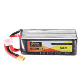 ZOP POWER 22.2V 5200mAh 50C 6S Lipo Battery With XT60 Plug For RC Models