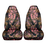 Camouflage Camo Car Front Seat Cover Protector SUV Van Pickup Truck Off-Road