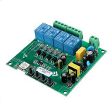 AC110V AC220V 10A Control Smart Switch Point Remote Relay 4 Channel WiFi Module Without Shell