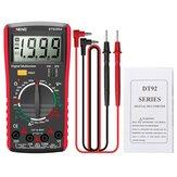 ANENG DT9205A recién HD Digital True RMS Professional Multímetro Probador de corriente de voltaje CA / CC automático Zumbador Multimetro eléctrico