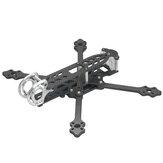LDARC DJ220 5 Inch 220mm Wheelbase 5mm Arm Carbon Fiber Frame Kit compatible DJI FPV Air Unit for RC Drone FPV Racing