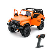 F1 F2 1/14 2.4G 4WD RC Car for Jeep Off-Road Vehicles with LED Light Climbing Truck RTR Model