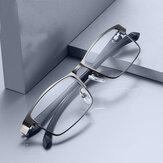 Rozsdamentes acél férfi üzleti olvasószemüveg olvasó férfiak presbitopikus optikai szemüvegéhez