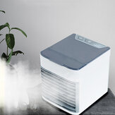 Bakeey USB Table Fan Portable Air Cooler Conditioner Fans Refrigerating Device Cooling Humidifier For Office