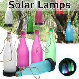 5pcs LED زجاجة شمسية ضوء معلقة في الهواء الطلق النمذجة مصباح الديكور حديقة بلاستيكية