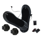 Battery Electric Heated Shoe Boot Insole Heater Sock Snow Foot Warmer Pads