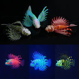 Yani Aquarium Ornament Glowing Effect Silikone Kunstig Decoration for Fish Tank