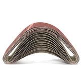 10Pcs 50x686mm Sanding Belts 60 120 150 240 Grit Aluminium Oxide Sanding Belts Abrasive Tool