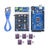 Upgrade Ramps 1.6 Base On Ramps1.5 Control Mainboard + Mega2560 R3 + 5Pcs DRV8825 Kit for Reprap 3D Printer