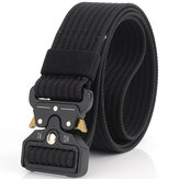 125cm KALOAD C01 3.8cm Nylon Belts For Men Women Metal Inserting Buckle Military Tactical Belt